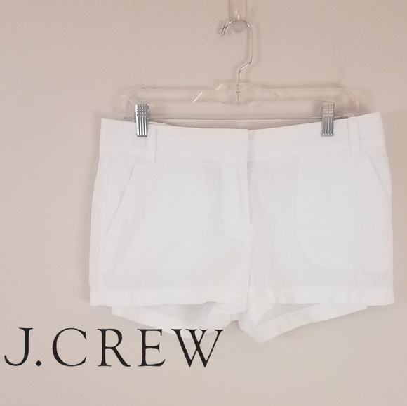 J. Crew Pants - J. Crew | White Chino Shorts [Shorts]